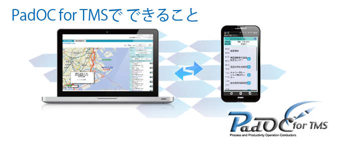 PadOC for TMSで できること